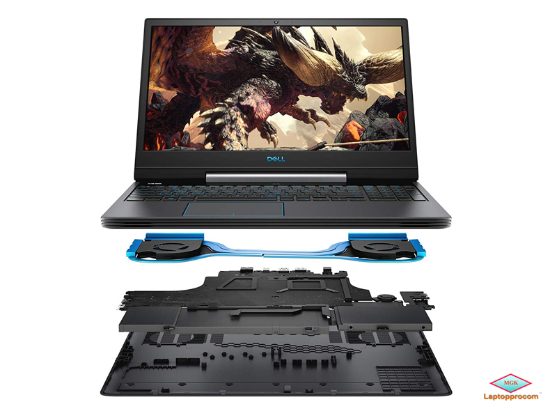 Dell G5_5590, Core i7-9750H, 512GB SSD, 16GB, RTX2060 6GB, 15.6 FHD, Win 10